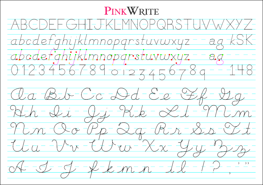 Handwriting Pinkwrite