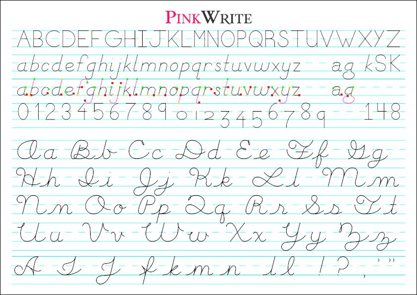 PinnkWrite Handwriting
